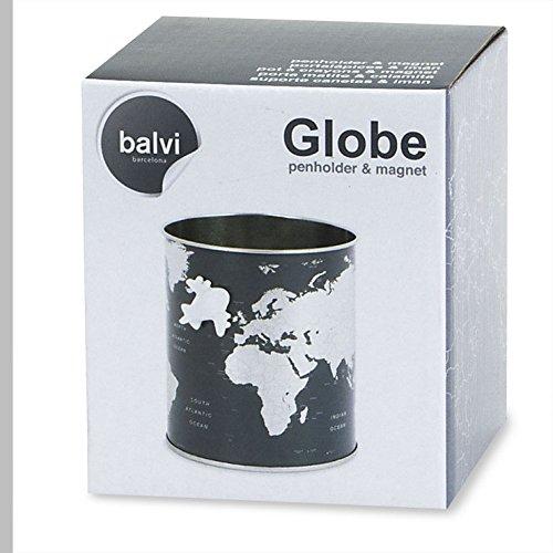Balvi/-/Porta/matite/Globe/Latta