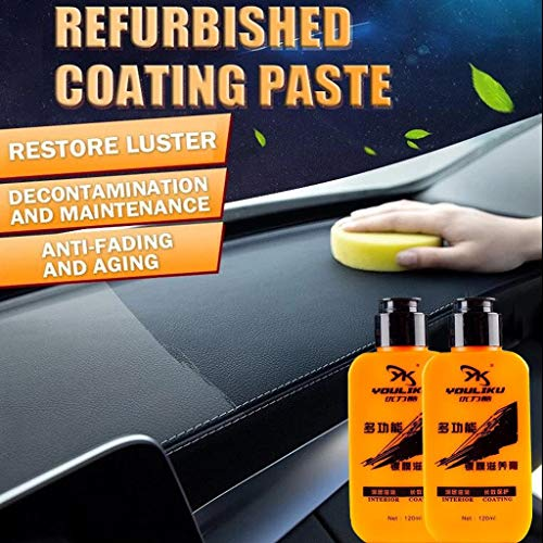 Nesee Renovated Coating Paste Automotive Interior Auto & Leather Renovated Coating Paste Maintenance Agent Care Essence for Automotive and Leather