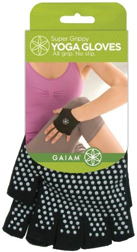 Gaiam Yoga Gloves Super Grippy - 1 Ct (colors may vary)