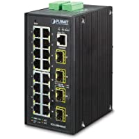 IGS-20040MT L2+ Industrial 16-Port 10/100/1000T + 4 100/1000X SFP Managed Switch