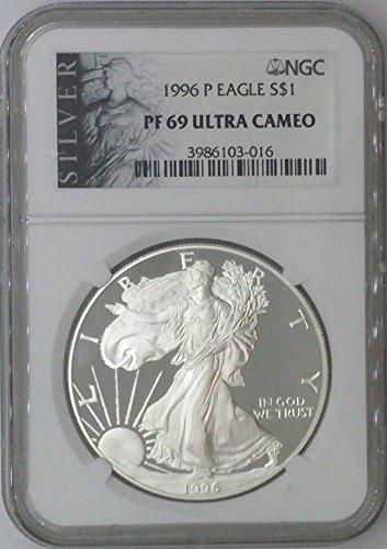 1996 P American Eagle $1 PF69 NGC PF