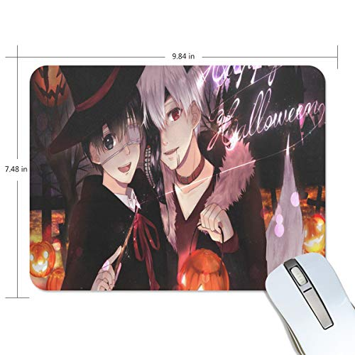 Mouse Pad Great Anime Halloween Wallpaper Gaming Mousepad Custom Small Thick Mouse Mat Black Marvellous Mouse Pads