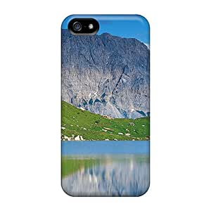 Snap-on Beautiful Lake In The Austrian Mountains Case Cover Skin Compatible With Iphone 5/5s