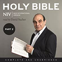 Complete NIV Audio Bible, Volume 2: Prophets, Gospels, Acts and Letters Audiobook by New International Version Narrated by David Suchet