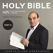 Complete NIV Audio Bible, Volume 2: Prophets, Gospels, Acts and Letters | Livre audio Auteur(s) :  New International Version Narrateur(s) : David Suchet