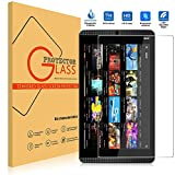 NVIDIA Shield Tablet K1 Screen Protector [Tempered Glass][Bubble-Free], Popsky Ultra Clear 0.26MM 9H Hardness High Definition Scratch Proof Premium Screen Protector Glass