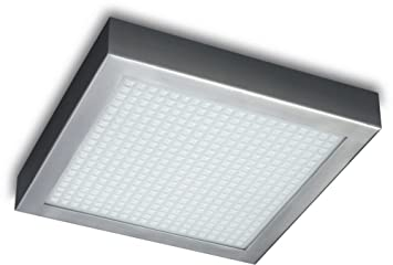 Philips 301981748 roomstylers square flushmount ceiling light philips 301981748 roomstylers square flushmount ceiling light chrome aloadofball Images
