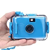 Creazy® Underwater Waterproof Mini 35mm Film Camera (Blue)