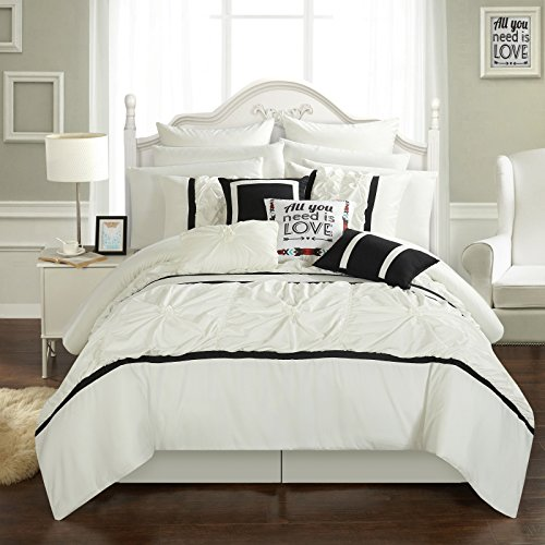 Chic Home Ashville 16 Piece Bed in a Bag Comforter Set, King
