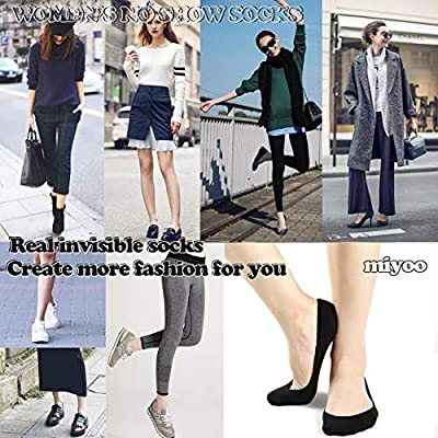 No Show Socks Women No Show Liner Socks Womens Non Slip Low Cut Thin Liner Socks Casual Cotton Socks 10 Pairs (One Size, Black) at Women's Clothing store