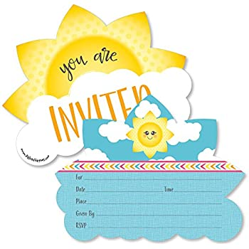 Amazoncom You Are My Sunshine FillIn Baby Shower or Birthday
