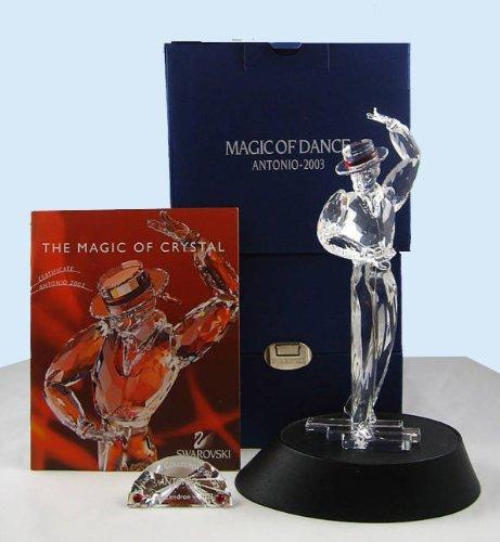 Swarovski Magic - Swarovski Crystal 2003 Antonio Figurine Magic of Dance