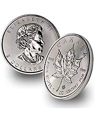 1988 - Present 1oz Silver Maple Leaf $5 Brilliant Uncirculated Random Year