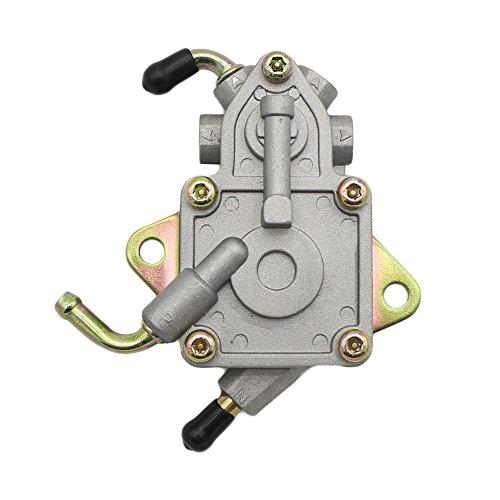 (JINGKE Linhai 260 Vacuum Fuel Pump for YAMAHA Rhino 450 660 UTV YXR450 YXR660 Replace 5UG-13910-01-0 5UG13910010)