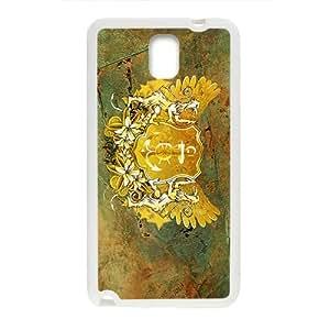 Creative Stone Badge Custom Protective Hard Phone Cae For Samsung Galaxy Note3
