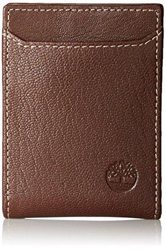 Timberland Men's Blix Minimalist Slim Money Clip Wallet,