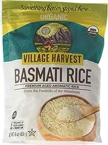 Amazon.com : Village Harvest Organic Indian Basmati Rice