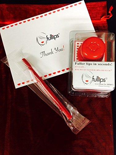 Fullips Lip Plumping Enhancer - Large Round (Plus Small Oval Bonus & Extra Gift!!!) by Fullips (Image #2)