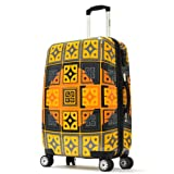 Olympia Luggage New Age Art Series 25 Inch Mid-size Rolling Case, Fusion Gold, One Size For Sale