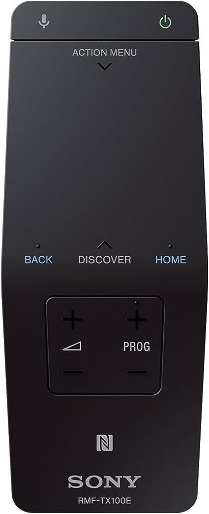 Sony RMF-TX100 - Mando a Distancia del televisor con Almohadilla táctil One-Flick, Negro: Amazon.es: Electrónica