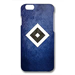 Unique Design FC Hamburger SV Collection Football Club Logo Phone Case Cover For Iphone 6/6S 3D Plastic Phone Case