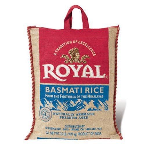 SCS Royal?Basmati Rice - 20 Lbs. by Royal