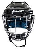Bauer Prodigy Youth Hockey Helmet Combo, X-Small, White