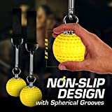 Climbing Pull Up Power Ball Set - Hold Grips with