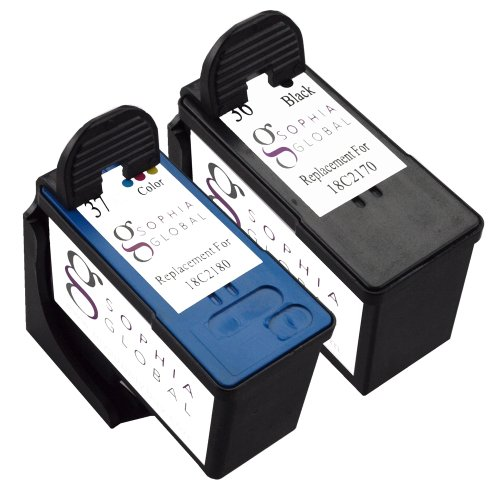 Sophia Global Compatible Ink Cartridge Replacement for Canon BCI-3e and BCI-6 (Pack of 16)
