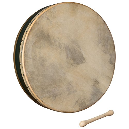 Trinity College TB-2 Irish Bodhran - Dark Green Rim