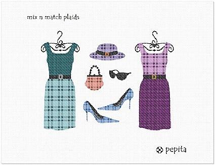 pepita Mix N Match Plaids Needlepoint Canvas