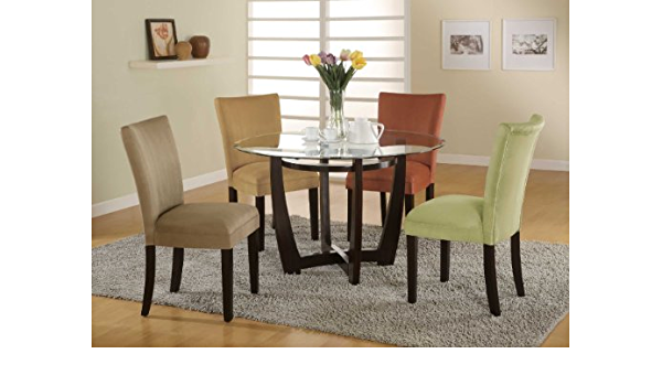 Taupe Parson Chairs Set Of 2 Coaster 101494 Chairs