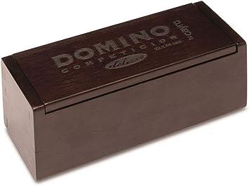 Cayro - Domino Competición en Caja Luxe - Juego Tradicional - Juego de Mesa - Desarrollo de Habilidades cognitivas y lógico matemáticas - Juego de Mesa (252): Amazon.es: Juguetes y juegos
