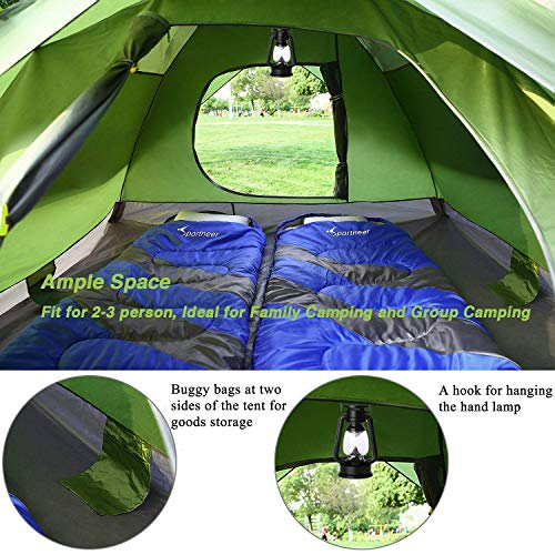 Lightweight hiking tent 3 person