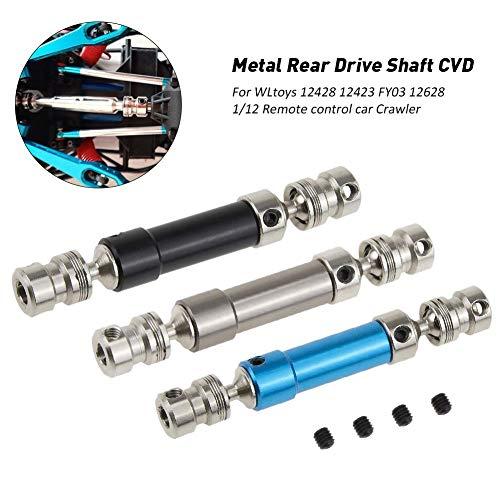 Dailyfun Drive Shaft Rear Center Gear Shaft CVD for WLtoys 12428 12423 FY03 12628 1/12 RC Car Crawler