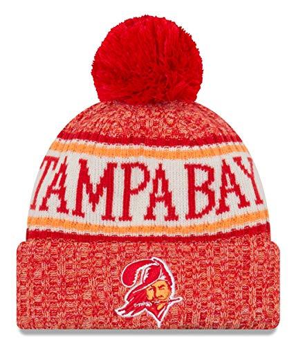 New Era Tampa Bay Buccaneers 2018 NFL Sideline On Field Historic Sport Knit Hat ()