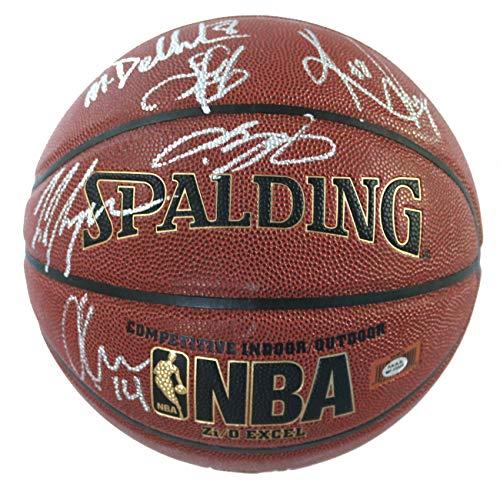 Cleveland Cavaliers Cavs 2015-16 NBA Champions Team Autographed Signed Spalding NBA Basketball PAAS COA Lebron Kyrie Love (Team Signed Basketball)