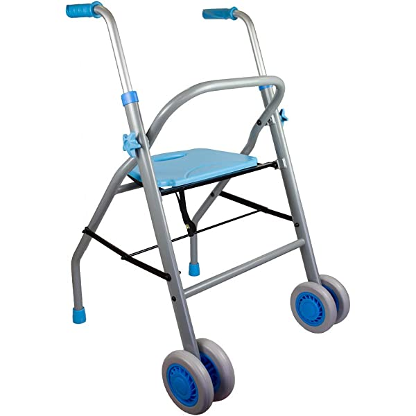 Andador Rollator | De aluminio | Plegable | Regulable en altura ...
