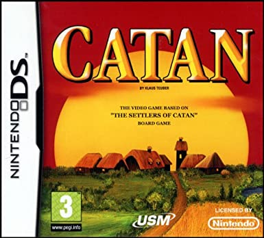 CATAN - The board game The Settlers of Catan for Nintendo DS [Importado]: Amazon.es: Videojuegos