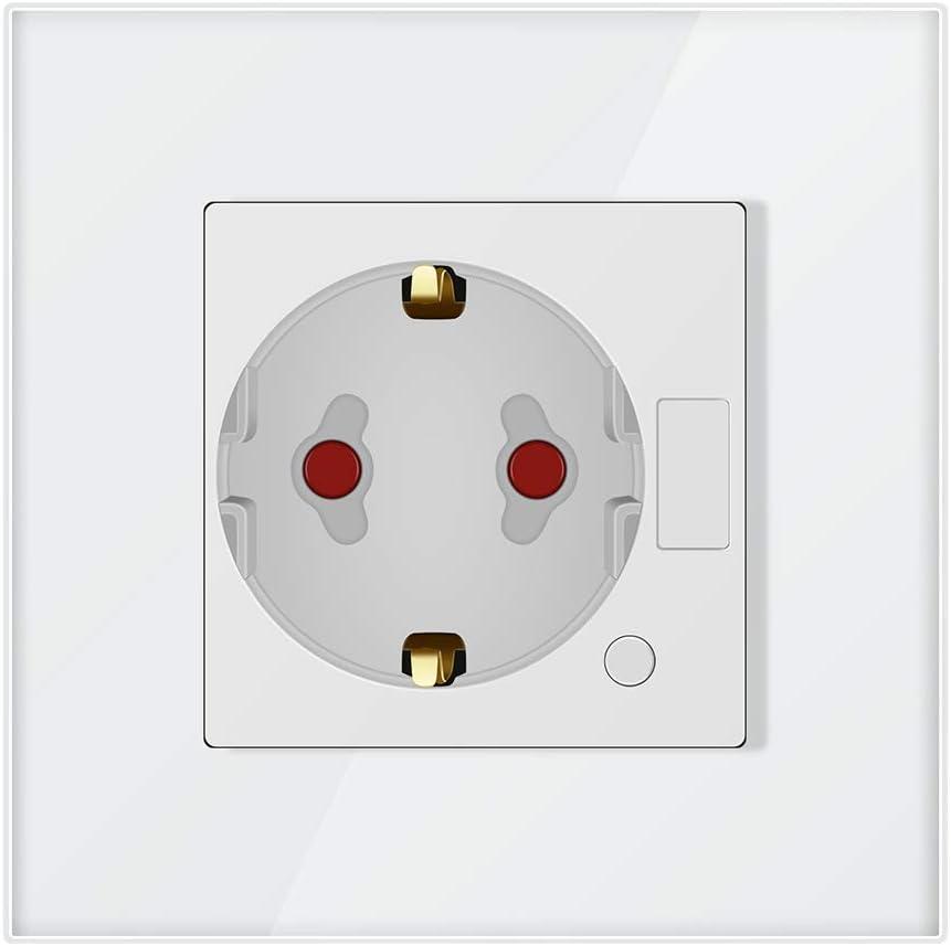 Konesky El enchufe del interruptor del temporizador de salida de Wifi Smart Socket funciona con Alexa Google Home e IFTTT (blanco)