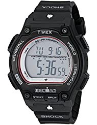 Timex Mens T5K584 Ironman Watch with Black Resin Band