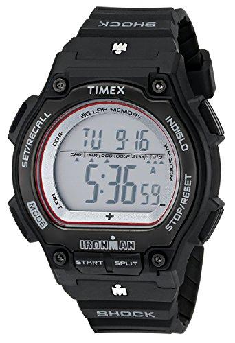 Timex Ironman Men's | Black Strap & Case Shock Resistant | Digital Watch T5K584