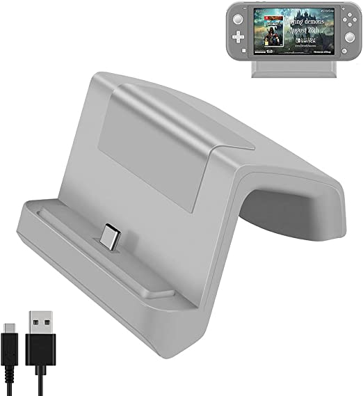 Shumeifang Switch Dock, Base de Carga Mini Portátil para Nintendo ...