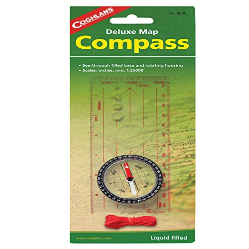 Coghlan's Deluxe Map Compass with (Directional Compass)