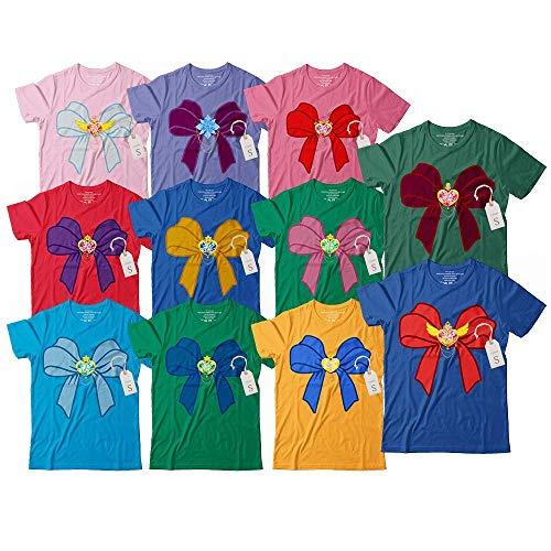 Sailors Bow Soldier Of The Moon Characters Halloween Costume Group Customized Handmade T-Shirt Hoodie/Long Sleeve/Tank Top/Sweatshirt