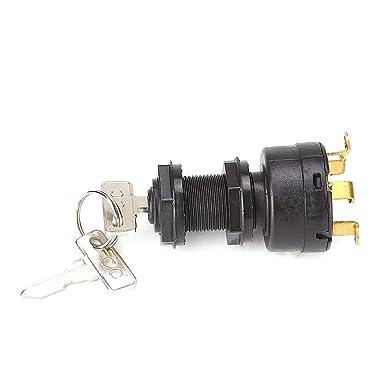 10L0L Ignition Key Switch for Gas Club Car DS /& 96-02 Precedent W// 2 Keys 1018263-01