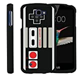 MINITURTLE Case Compatible w/ LG Optimus Zone 3,LG Spree,LG K4,LG Rebel Phone Case, Perfect Fit Case Hard Cover Cool Designs Game Controller Review