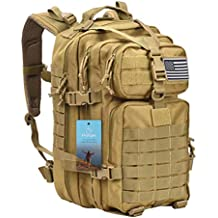 Prospo 40L Military Tactical Backpack Molle Shoulder Bag Rucksack Assault Pack Daypack for Camping Trekking Hunting Fishing
