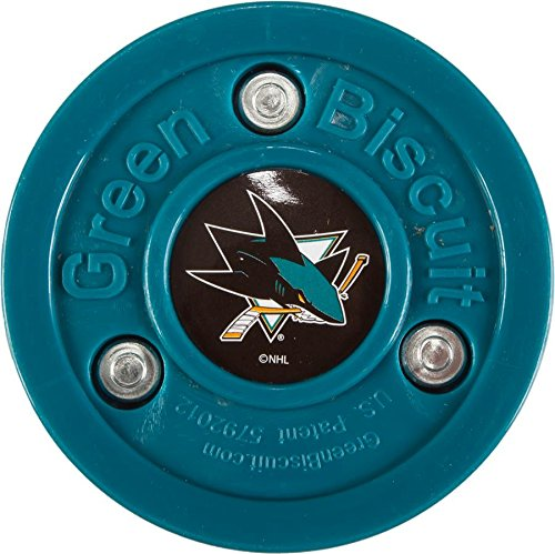 fan products of GreenBiscuit Original NHL San Jose Sharks Puck