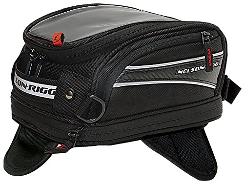 Nelson-Rigg CL-2014-MG Black Medium Magnetic Mount Motorcycle Bag